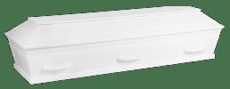 XL kiste i hvid